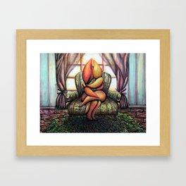 A Peculiar Love Framed Art Print