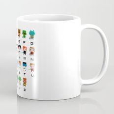Star Wars Alphabet Mug