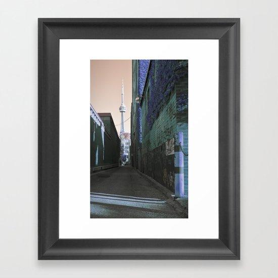 shining spire... Framed Art Print