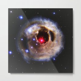 1515. Light Echoes From a Red Supergiant Metal Print