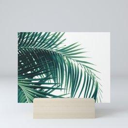 Palm Leaves Green Vibes #6 #tropical #decor #art #society6 Mini Art Print