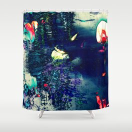 Lambent  Creatures Shower Curtain