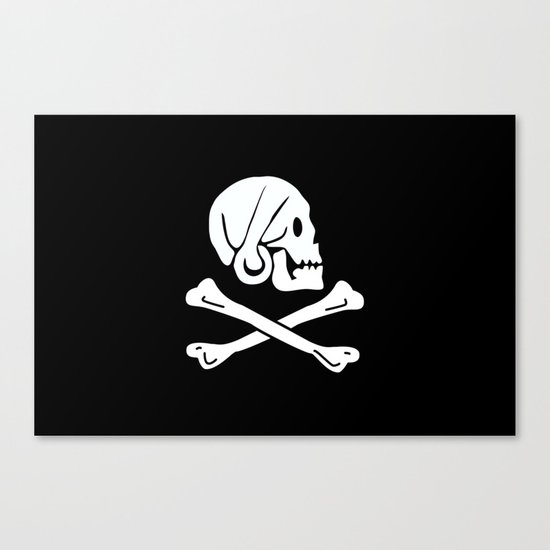 Jolly Roger Canvas Print