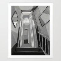 Upstairs Hall Art Print