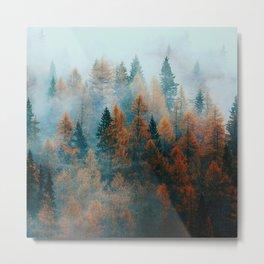 Holomontas Autumn Metal Print