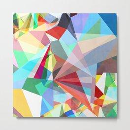 Colorflash 5 Metal Print