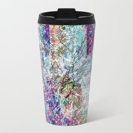 Technicolour Cherry Blossom Travel Mug