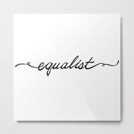 Equalist Metal Print