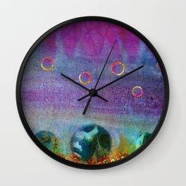 Headstones Wall Clock