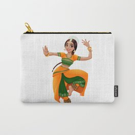Smiling indian dancer Carry-All Pouch