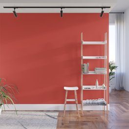 Grenadine | Pantone Fashion Color Fall : Winter 2017 | New York | Solid Color | Wall Mural