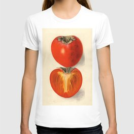 Vintage Plum Tomato Illustration T-shirt