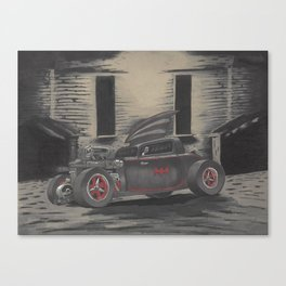 Hot Rod Batmobile  Canvas Print