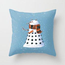 Snowlek Throw Pillow