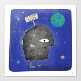 Charlie Sheen - Planet Sheen Canvas Print