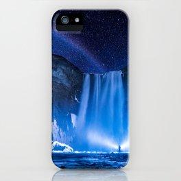 Beautiful Iceland Waterfall iPhone Case