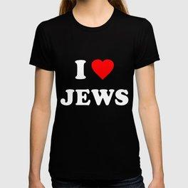 I Love Jews T-shirt
