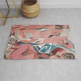 Les demoiselles d'Avignon - Pablo Picasso - Art Poster Rug