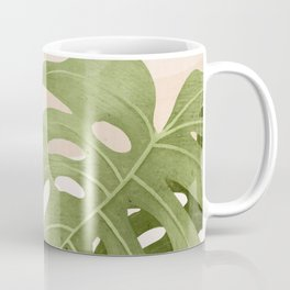 Abstract Art Tropical Leaves 21 Coffee Mug