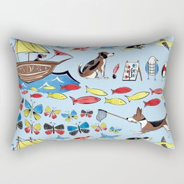 The Voyage of the Beagle Rectangular Pillow