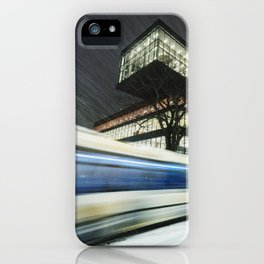 Library Blizzard iPhone Case