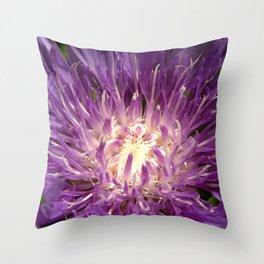 Flower EE Throw Pillow