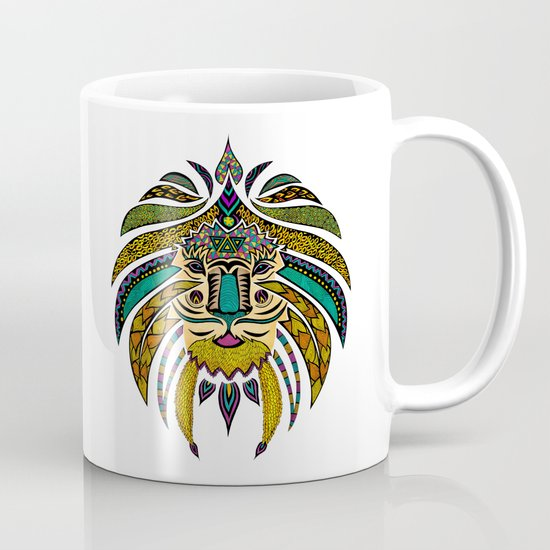 Emperor Tribal Lion Mug