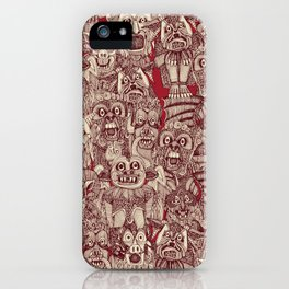 gargoyles red iPhone Case