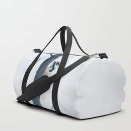 Great spotted woodpecker Duffle Bag