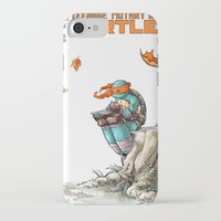 ninja iPhone & iPod Cases featuring NINJA by Don Kuing