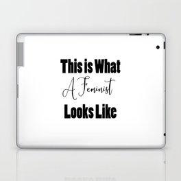 I Am a Feminist Laptop & iPad Skin