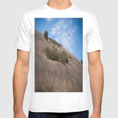 A Field Summer Mens Fitted Tee White MEDIUM