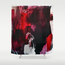 """You were born for this Clarke. Same as me."" Shower Curtain"