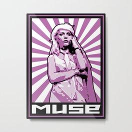 Muse Metal Print