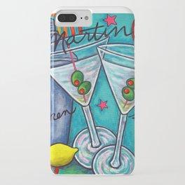 Retro Martini iPhone Case