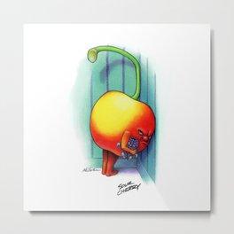 Sour Cherry Metal Print