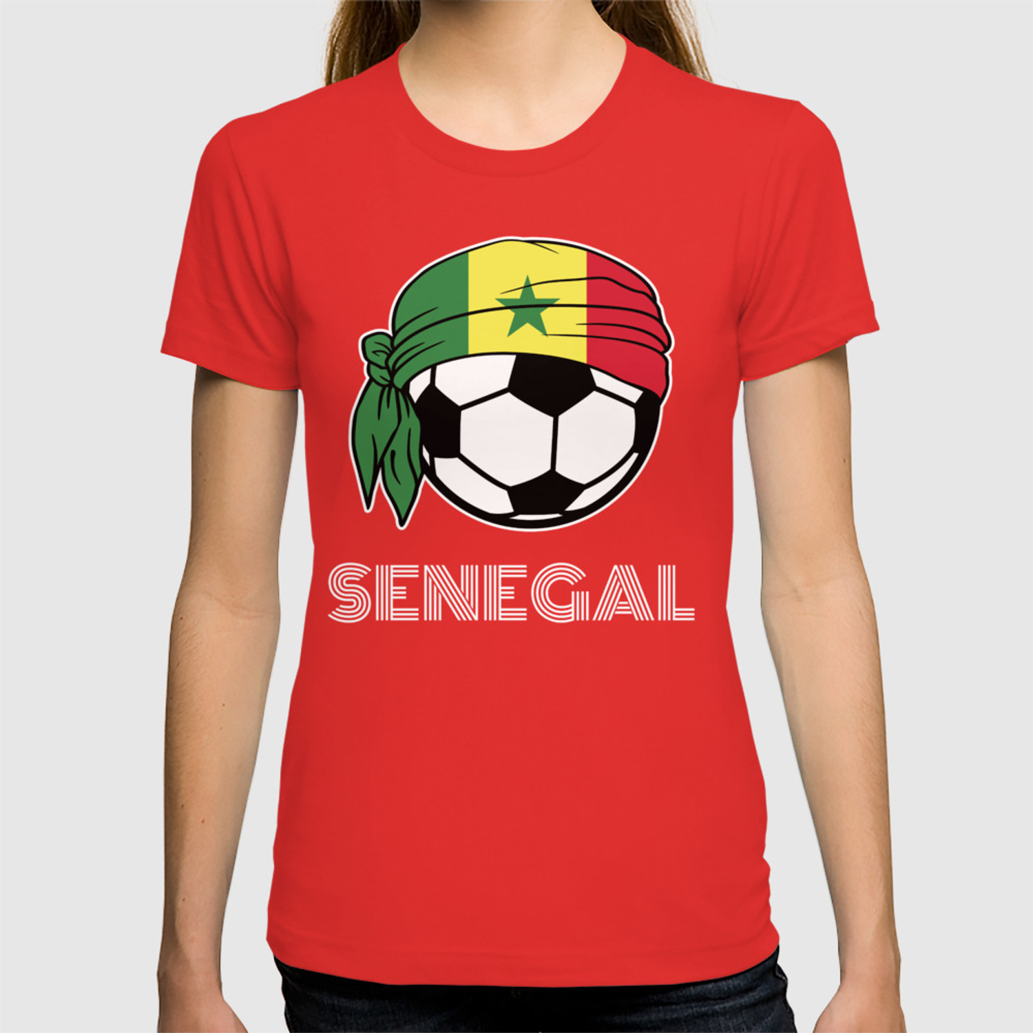 best loved e903c bd806 Senegal Soccer Fans Kit 2019 Football Supporters, Coach and Players T-shirt