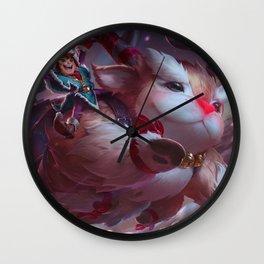 Workshop Nunu Splash Art Wallpaper Background Official Art Artwork League of Legends Wall Clock