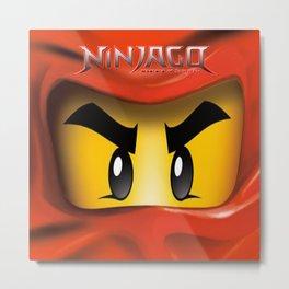 Lego Ninjago Metal Print