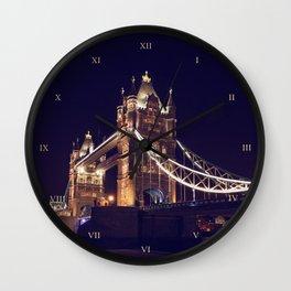 TOWER BRIDGE (London) Wall Clock