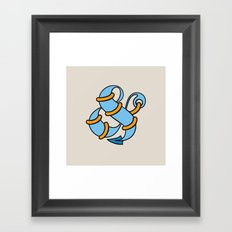 Et Anchor Framed Art Print