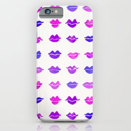 Kiss Collection – Indigo Palette iPhone Case