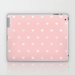Rose Quartz Heart Pattern Laptop & iPad Skin