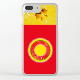 Watermelon-Lemon - Strange Fruits - Living Hell Clear iPhone Case