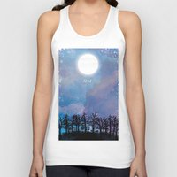 luna Tank Tops featuring Luna by Jo Cheung Illustration