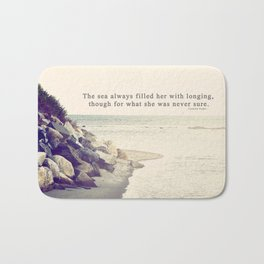 Filled with Longing Bath Mat