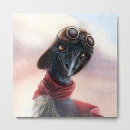 Queen Bess Emu Metal Print