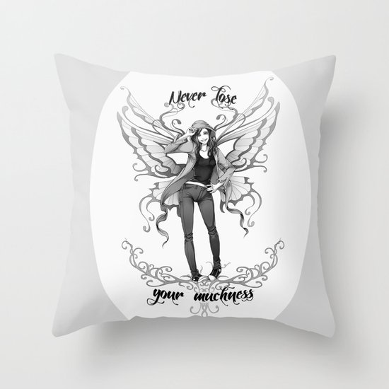 Fairy2 Throw Pillow