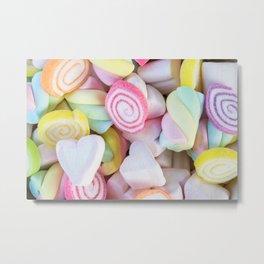 Candy Metal Print