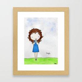 Laugh 2 Framed Art Print